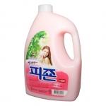 Nước xả vải Pigeon Hàn Quốc hương hoa hồng dạng chai 2500ml