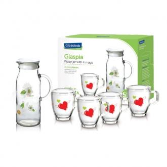 Bộ bình nước Glasslock CG982