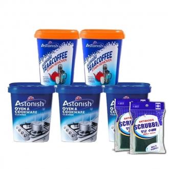 Bộ sản phẩm tẩy rửa Astonish 7 món
