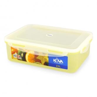 Hộp đựng thực phẩm sắc màu Kova 2.1L Vàng