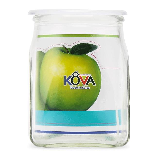 Hũ thủy tinh đựng gia vị KoVa 600ml - ảnh 1